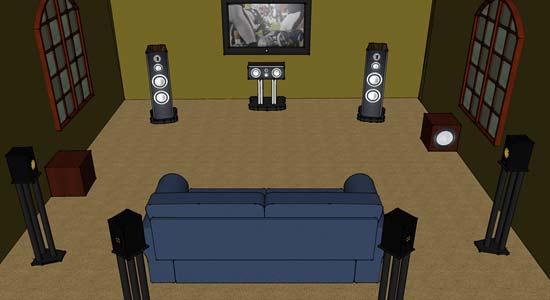 家庭影院音箱