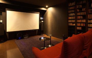 书房家庭影院