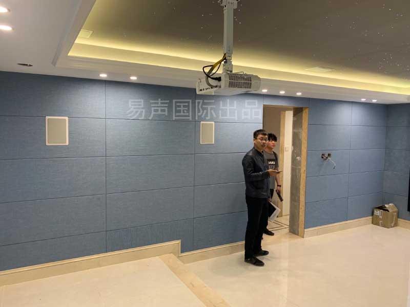 北京房山区家庭影院装修设计